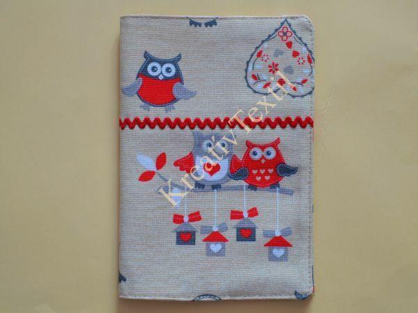 Textil füzetborító