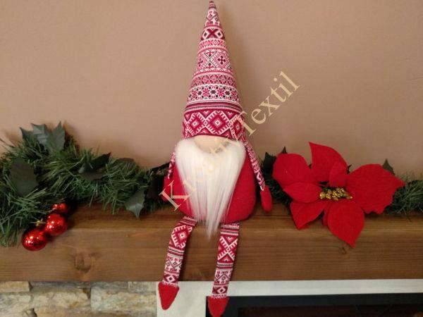 Skandináv karácsonyi manó lábakkal