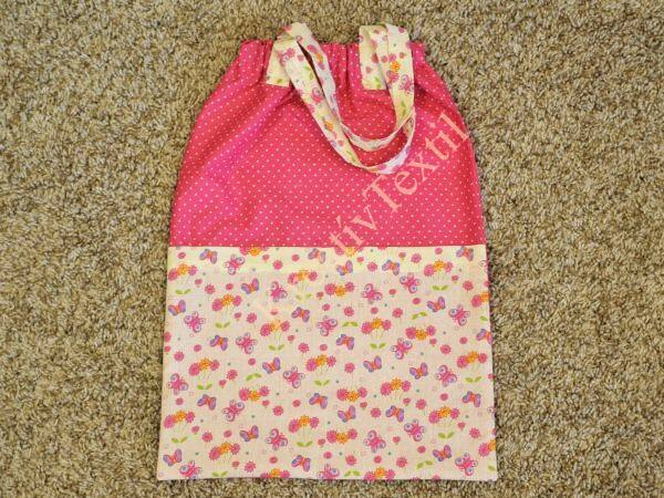 Lányos óvodai/iskolai ruhászsák