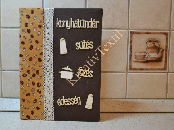 Textil receptkönyv barna