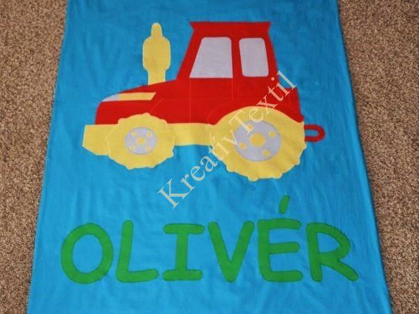 Traktoros takaróhuzat 100x140