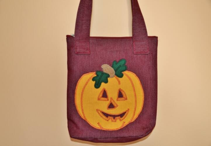 Image of Halloween sütőtök táska